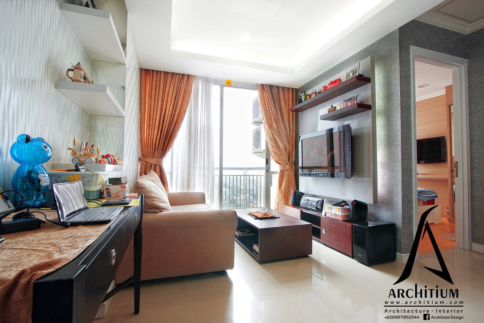 Interior Apartment Jakarta Pluit Architium