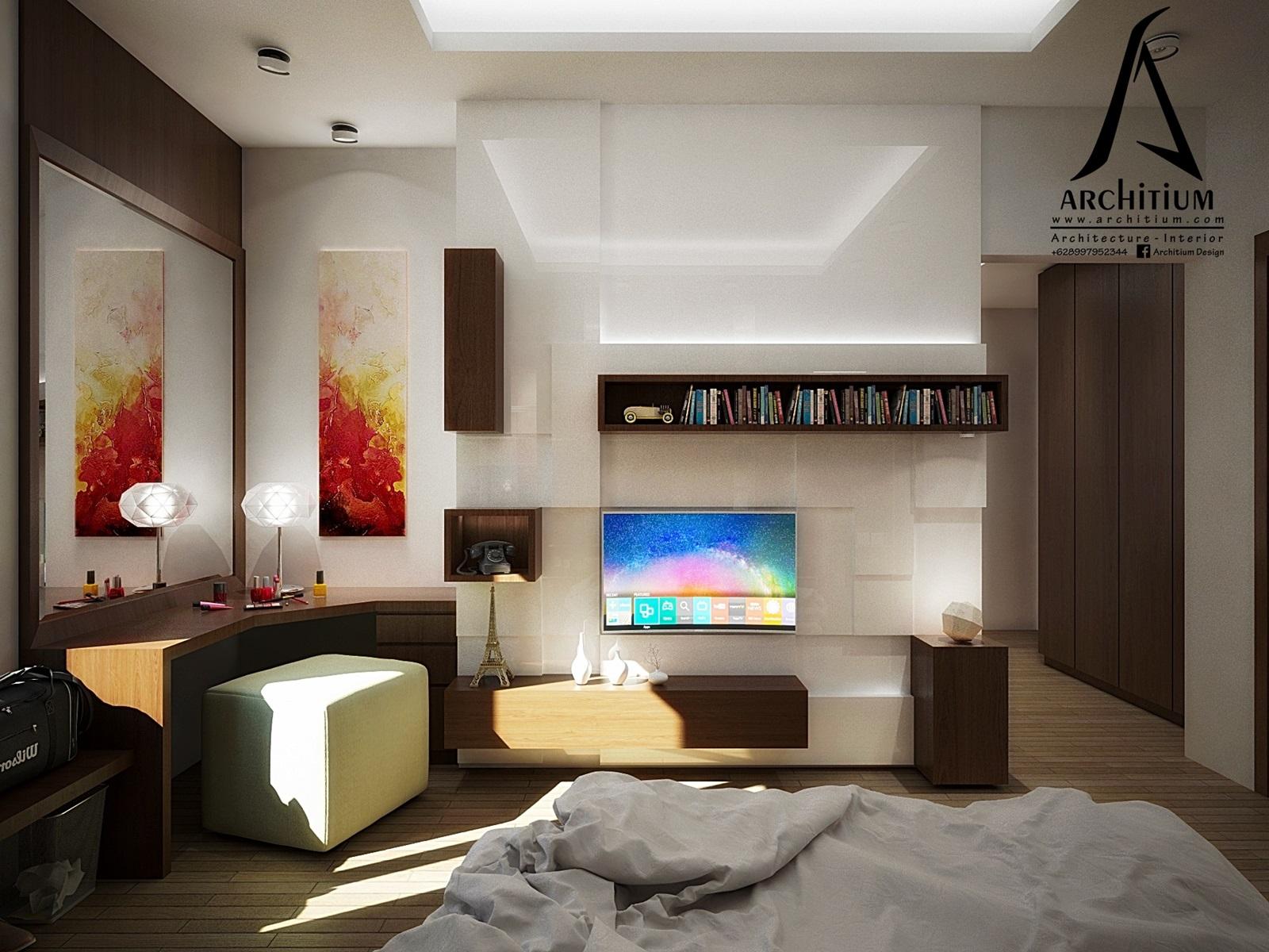 desain kamar tidur architium