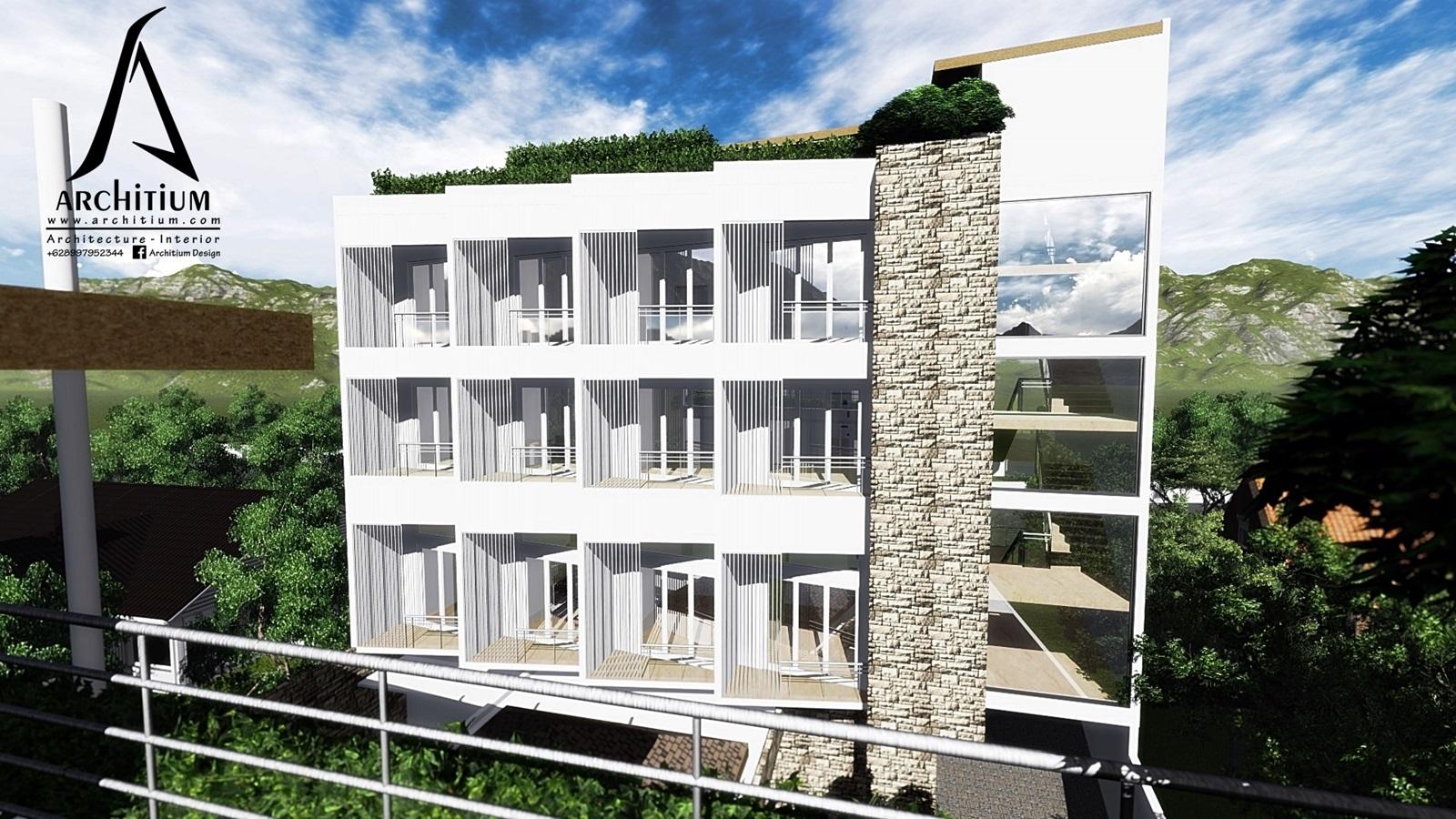Architecture-Boarding House-Bandung-Back