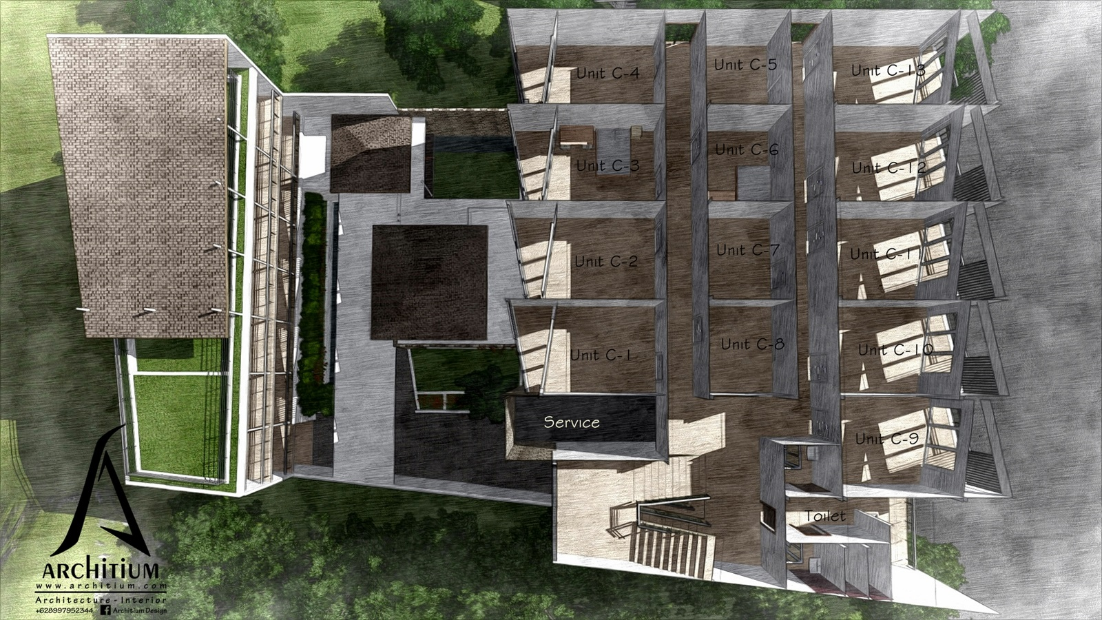 Architecture-Boarding House-Bandung-L2