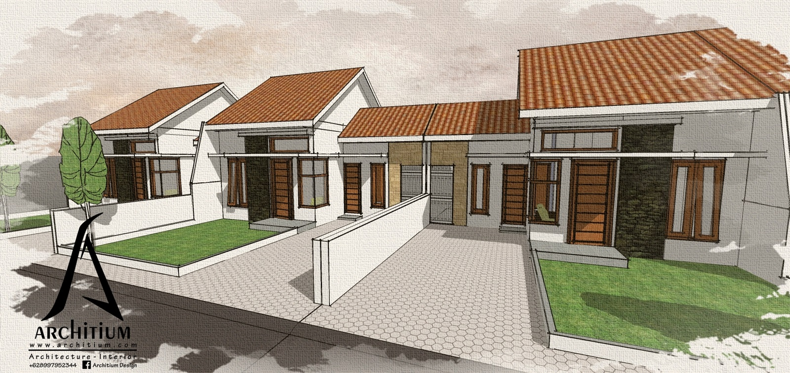 Architecture-House-Bandung-Ciganitri-Cluster-Housing 1